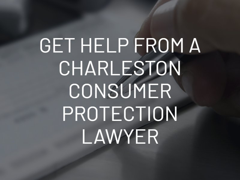 charleston consumer protection lawyer
