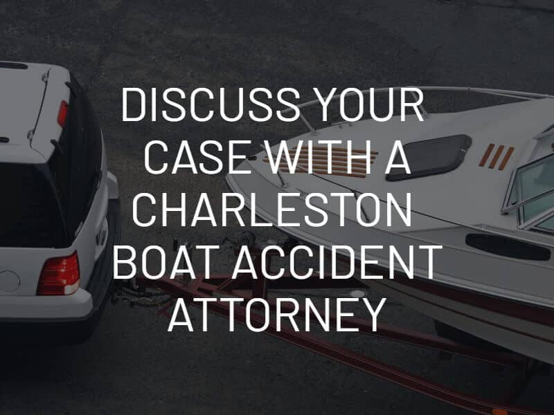 Discuss Your Case With Charleston Boat Accident Attorney